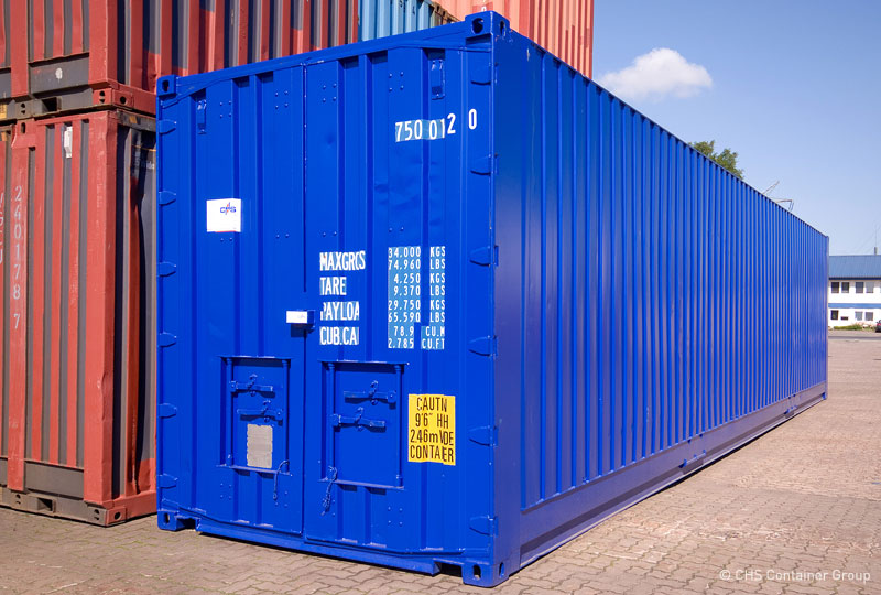 pallet wide container chs container. Black Bedroom Furniture Sets. Home Design Ideas