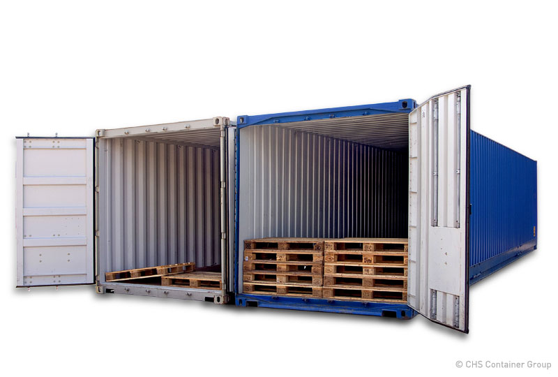 pallettenbreiter container chs container. Black Bedroom Furniture Sets. Home Design Ideas