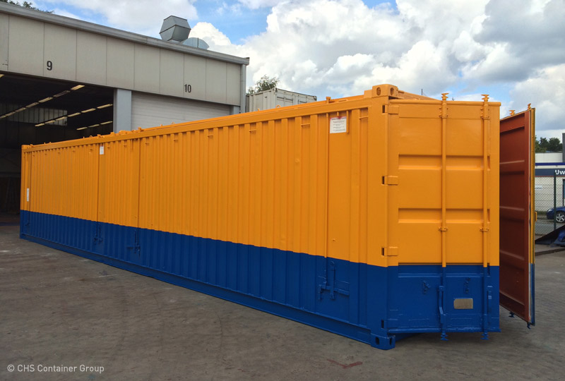 Open Tophard Top Container  Chs-Container-6526