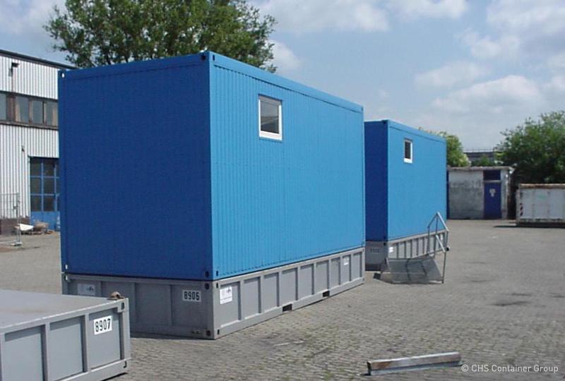 Sauber und Rein | CHS-Container